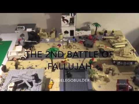 LEGO The battle of Fallujah- Iraq war