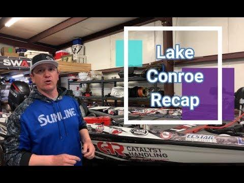 2019 Lake Conroe Set Up