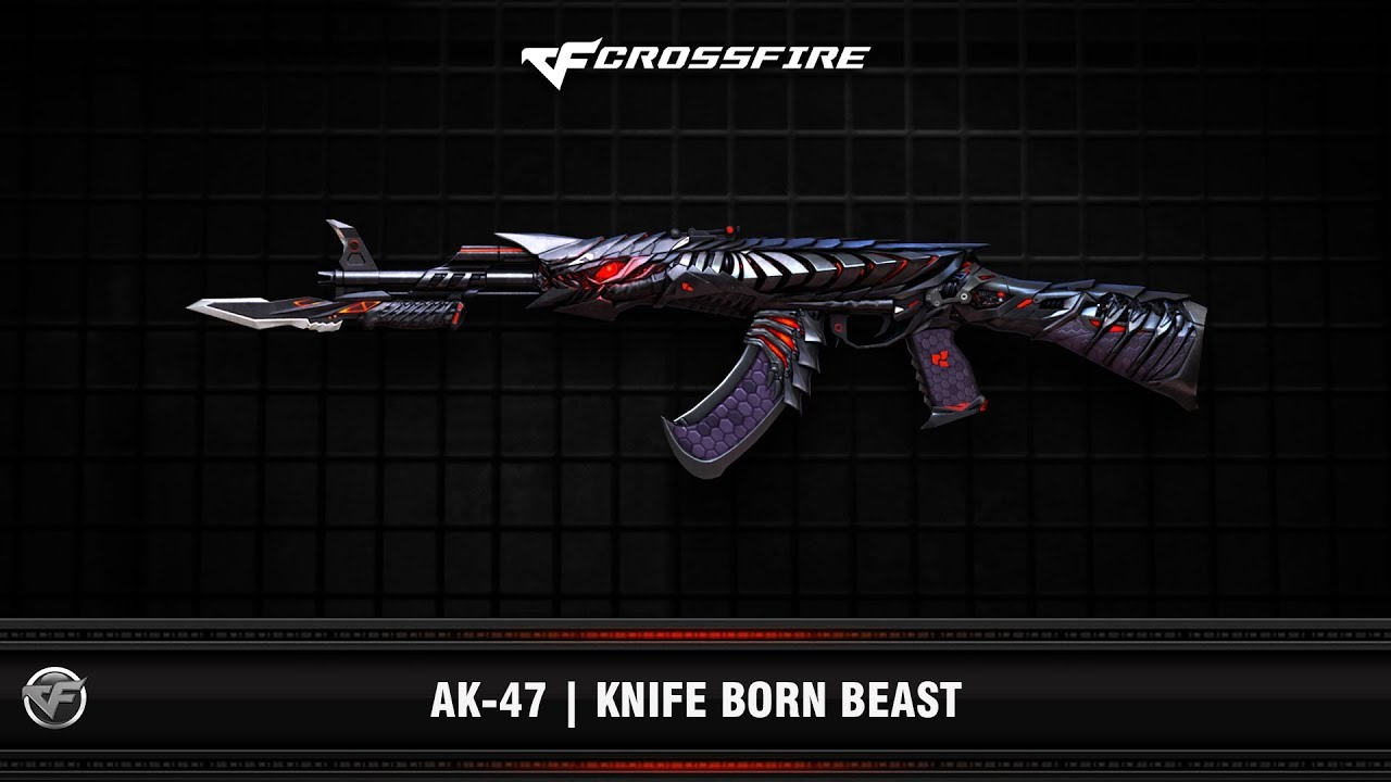 CF : AK-47 | Knife Born Beast