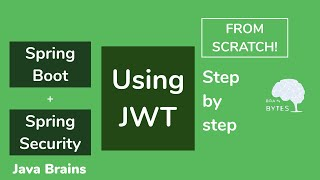 Spring Boot + Spring Security + JWT from scratch - Java Brains