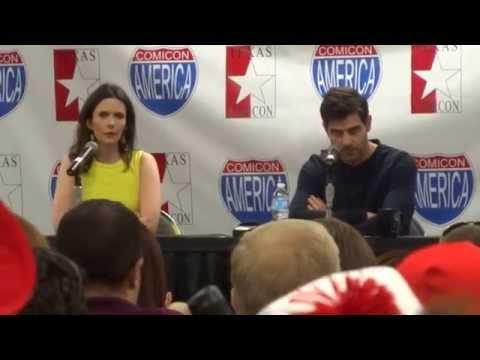 David Giuntoli and Bitsie Tulloch from NBC Grimm part 1 of 2