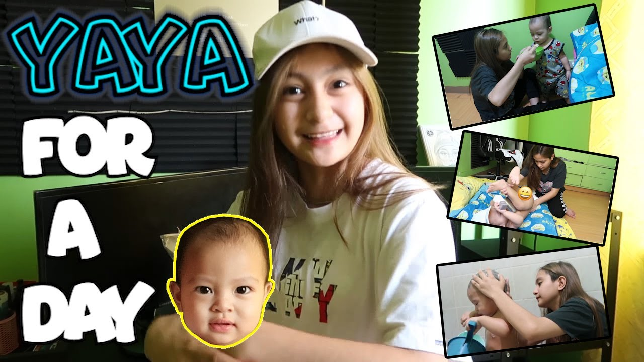 YAYA FOR A DAY KAY BRAIDEN ( SUPER KULIT ) | PRINCESS THEA