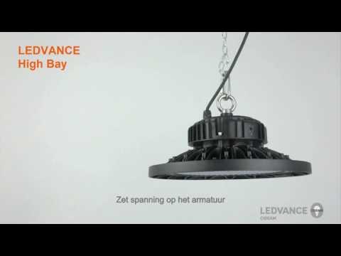 LEDVANCE High Bay armatuur - Installatievideo