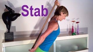 Rücken-Gymnastik mit dem Stab mit Gabi Fastner