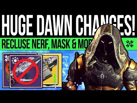 Destiny 2 | HUGE DAWN CHANGES! Recluse NERF, Xenophage Buff, Festival Secret & OEM (Season 9 News)