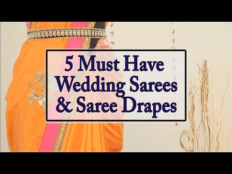 how to wear saree in different style youtube