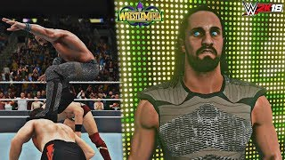 WWE 2K18 Wrestlemania 34: Seth Rollins Wins the Intercontinental Championship feat. Epic Mod!