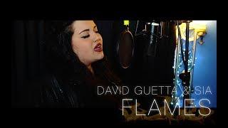 David Guetta & Sia - Flames (Arianna Palazzetti COVER) Video