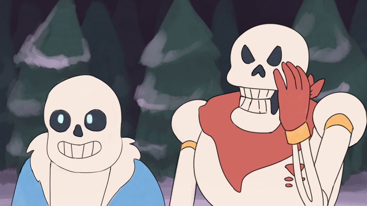 Undertale Animated! - Meeting Sans and Papyrus