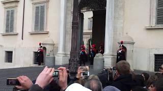 Quirinale da AM dei carabinieri!.mp4