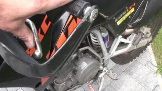 Motor KTM LC4 625 wird verkauft