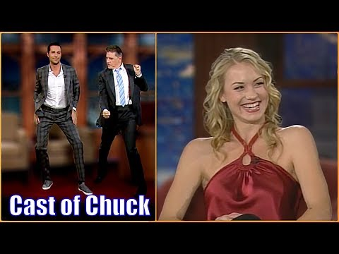 Zachary Levi & Yvonne Strahovski  The Main Cast Of Chuck
