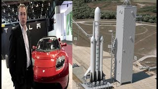Elon Musk Llevará su Coche de Lujo a Marte en vez de a 4 pasajeros más
