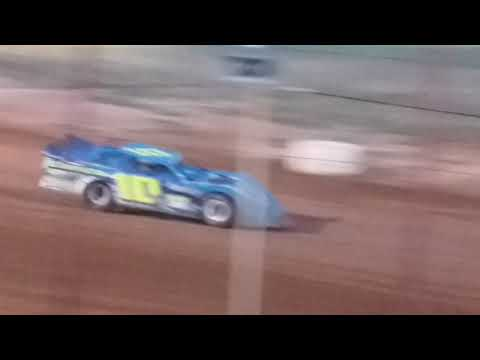 Sooner Late Model Series Heat Race 1 - Oklahoma Sports Park  10/27/18