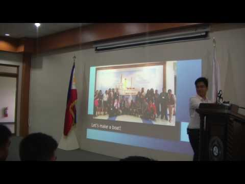 Succession in Leadership - Cris John P. Lorena, ]YPA Ambassador;  Philippines.
