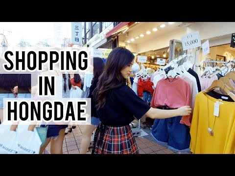 Cafes & Shopping in Hongdae, KOREA ft. Sunnydahye