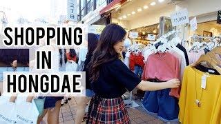 Cafes & Shopping in Hongdae, KOREA ft. Sunnydahye
