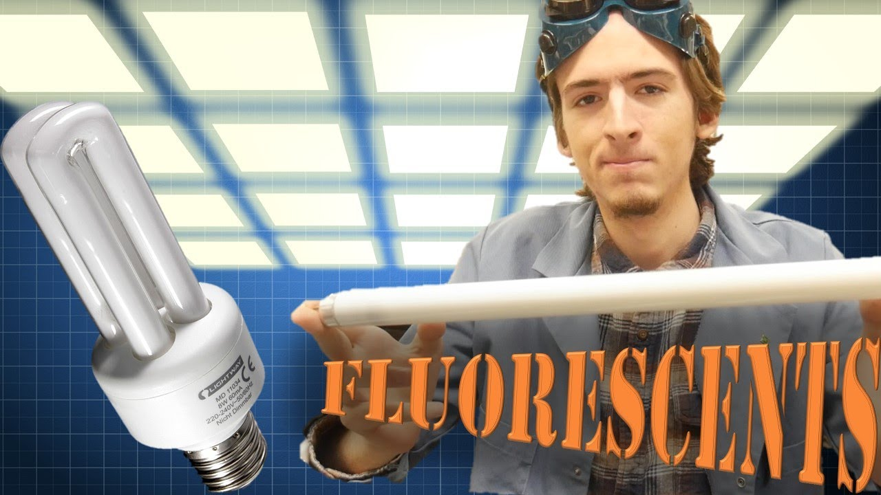 How A Fluorescent Lamp Works