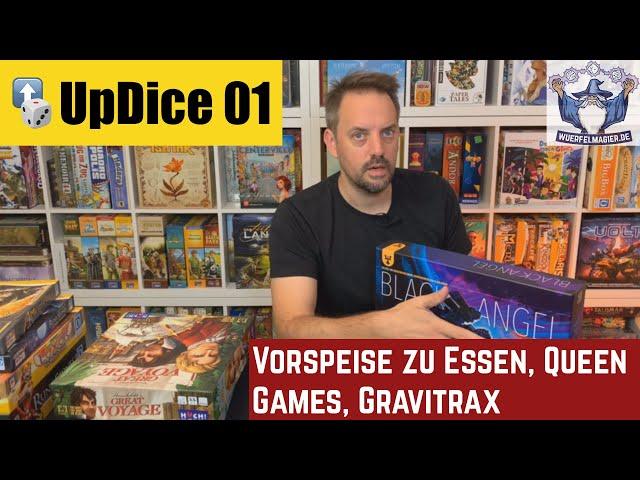 UpDice 01 - Vorspeise zu Essen, Queen Games, Gravitrax