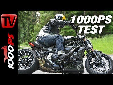 1000PS Test - Ducati XDiavel S by Ilmberger Carbon - Veredelung mit ganz viel schwarzem Gold