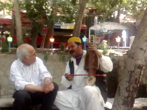 Afghan street musician in Torghbe, Mashhad, Iran (part 1)