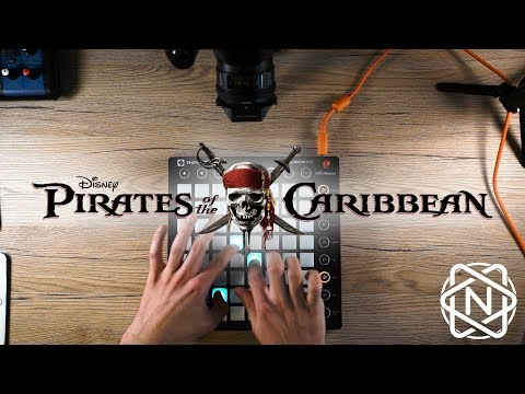 He's a Pirate - Pirates of the caribbean - Julius Nox (Giulio's Page) Launchpad Live Remix 2017