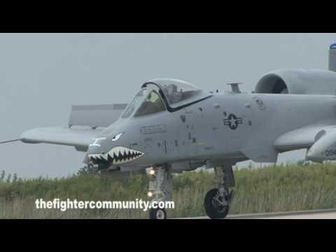A-10 EAST COAST DEMO TEAM, CLEVELAND AIR SHOW 2009