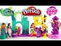 ♥ Play Doh Disney Design-a-Dress Ballroom & My Little Pony Toys