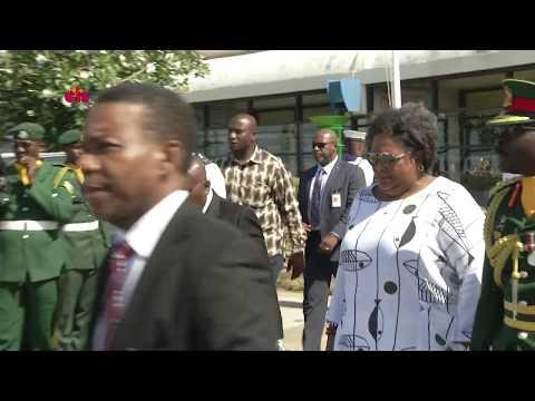 Departure of President of Ghana