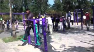 Old People 'fitness Park!' Beijing