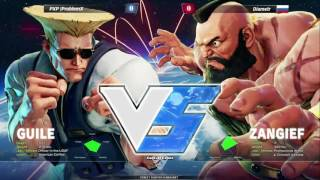 Street Fighter V Tournament MFA 2016 - Top 32 - part 1