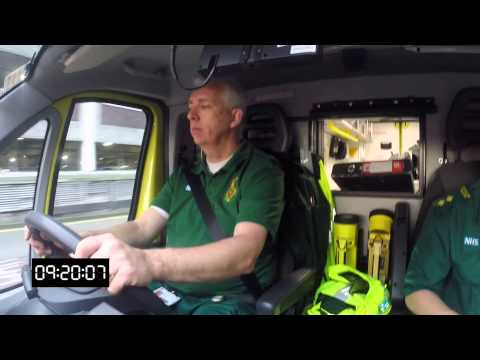 A Day In The Life Of An Ambulance Crew In The East Midlands