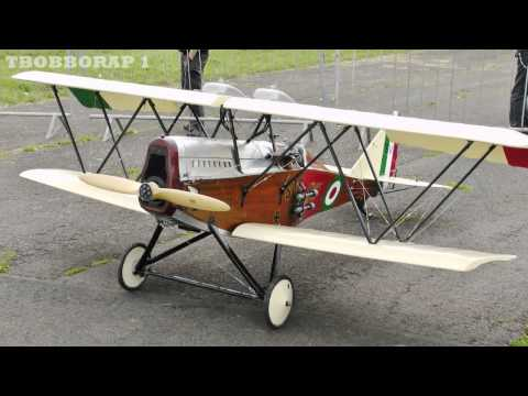 RC WW1 SCOUT / FIGHTERS DISPLAY AT LONG MARSTON MODEL AIRCRAFT SHOW - 2014