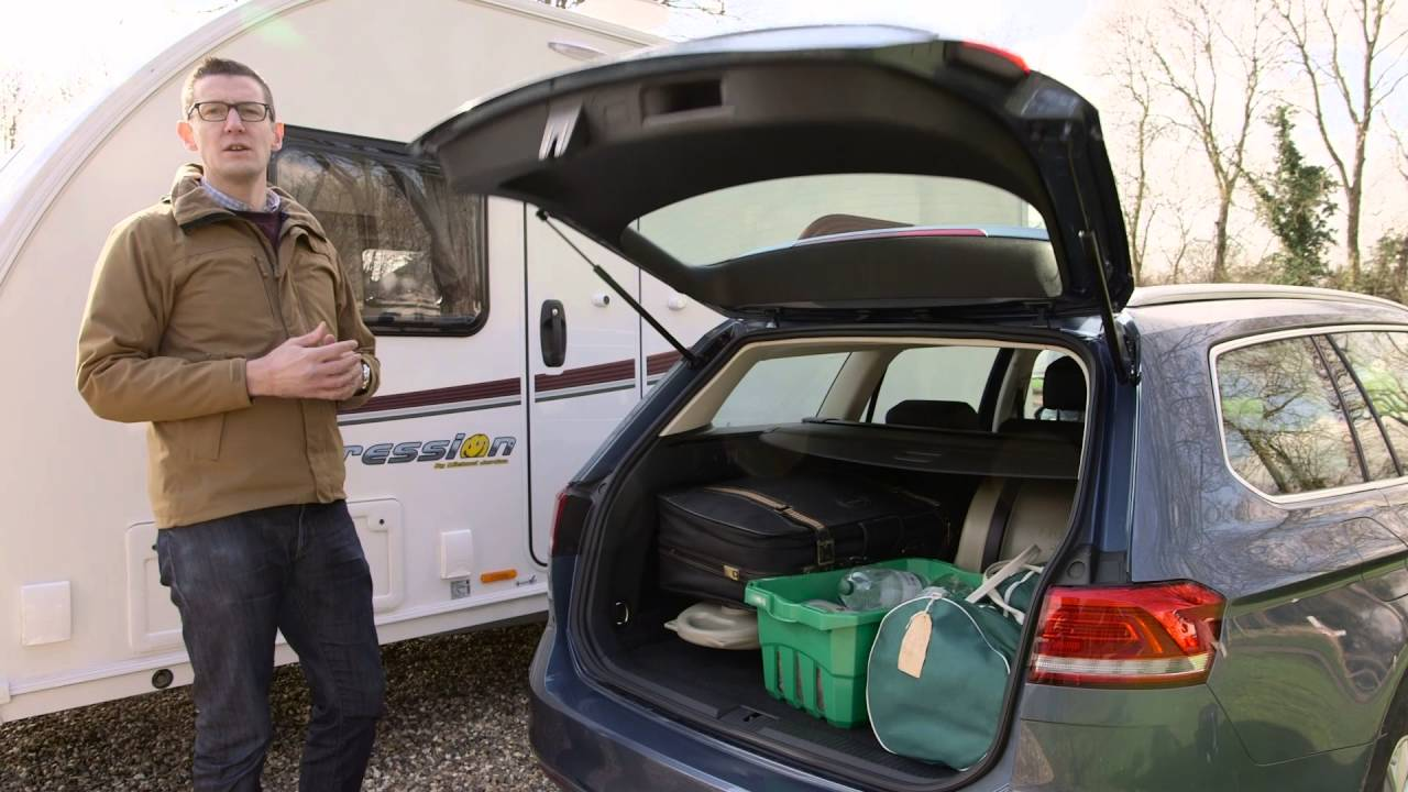 Volkswagen Pat Estate Towing Review With The Camping And Caravanning Club