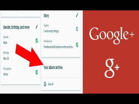 How To Watch Google Plus Album Archive | Download Photos & Videos