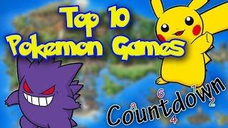 top 10 pokemon games