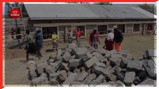 Naivasha parents join hands to construct classrooms to accommodate a high number of learners