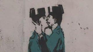 ¿La primera obra de Banksy en España?