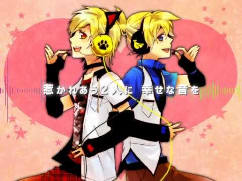 96neko,Len - Happy Synthesizer [English Lyrics]