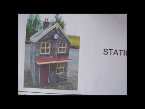 Modeltown G scale railway station building pt1