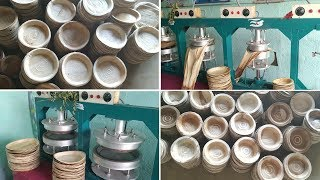 Areca Leaf Plate Making Machine Pakku Mattai Plate Making Process