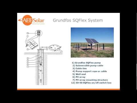 2015 Summer Webinar Series: Water Pumping with PV