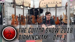 Crimson Guitars at the Birmingham Guitar Show 2018 - Day 1