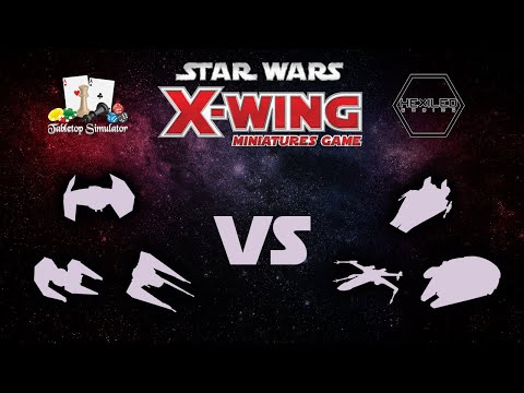 X-Wing 2nd Edition - Tabletop Simulator [05/14/19] GAME 2