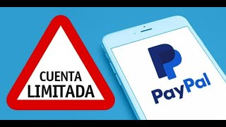 ¿Como evitar que te LIMITEN tu cuenta Paypal? ¿Que Hacer? - CONSEJOS