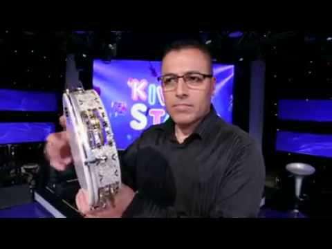 Download Bishara Naddaf - A Cute Riq or Daf Solo at Kid Star TV Program