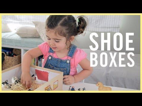 PLAY | 3 Shoebox Activities