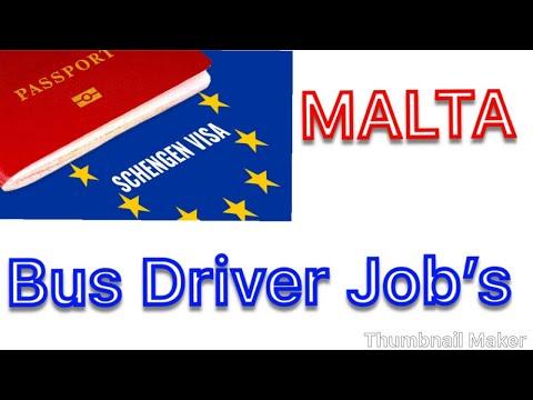 MALTA 🇲🇹 BUS DRIVER JOB'S ( HINDI-PUNJABI )