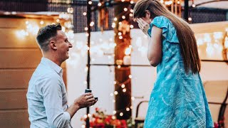 CUTEST PROPOSAL EVER!!! This wedding planners proposal will for sure make you cry!