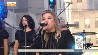 Kelly Clarkson Stronger The Today Show